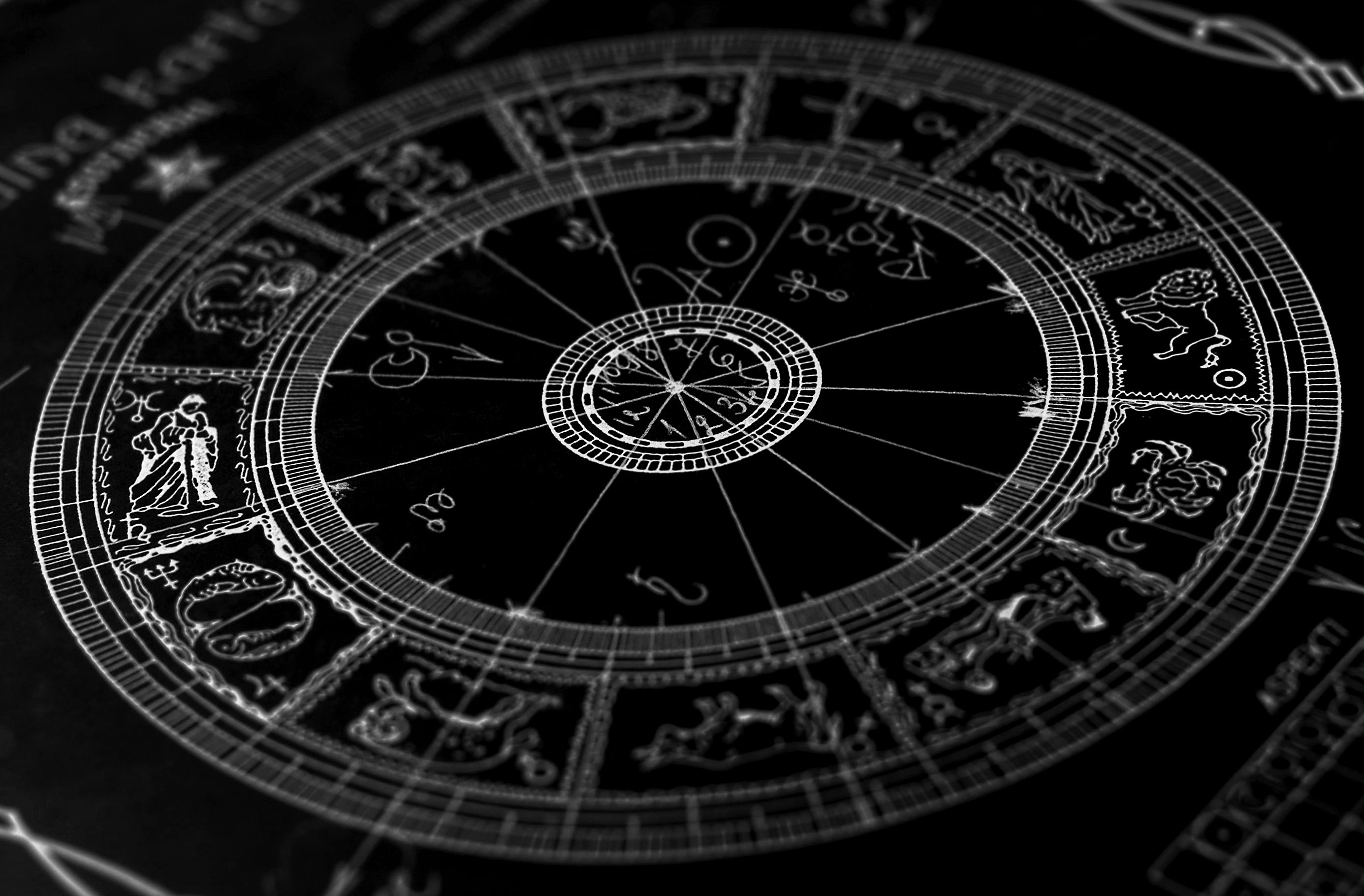 Zodiac signs Signs of the Zodiac  a beautiful picture on a black background 047504  - zodiac