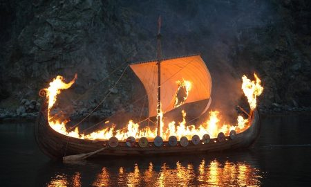 viking funeral 450x270 - curious