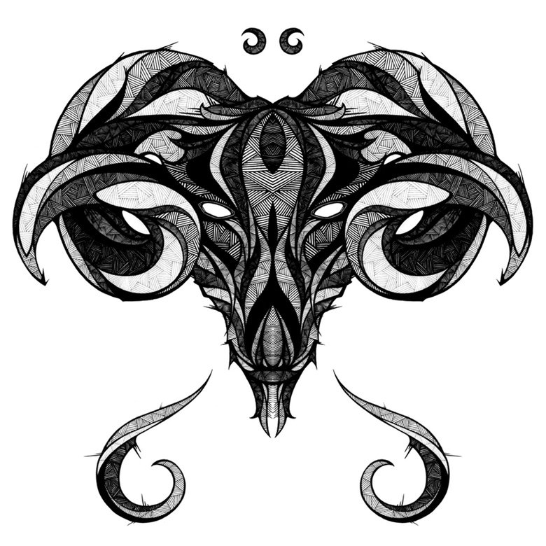 1. aries - zodiac