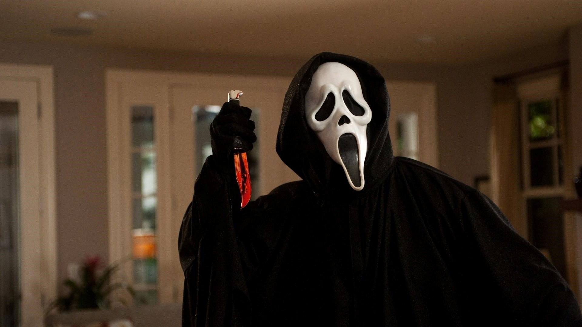 Ghostface from the Scream Movies Wallpaper - zodiac