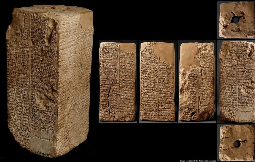 Sumerian King List - curious