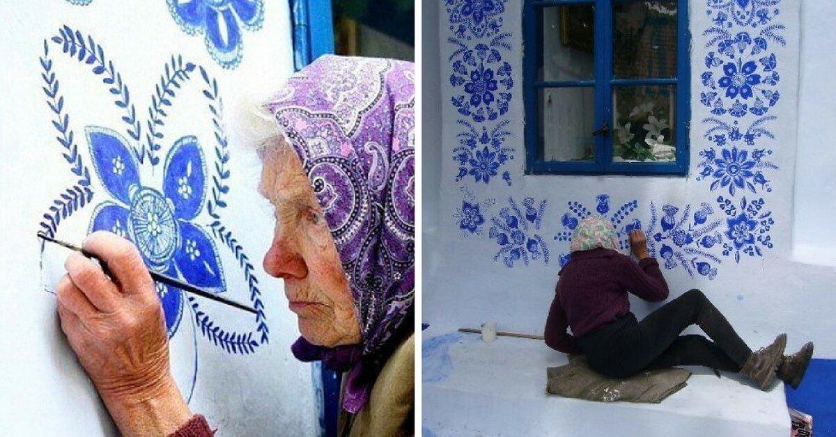 grandma - curious