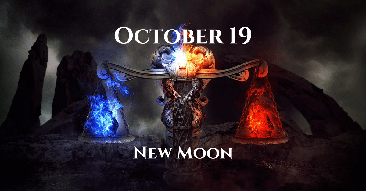 new moon - zodiac