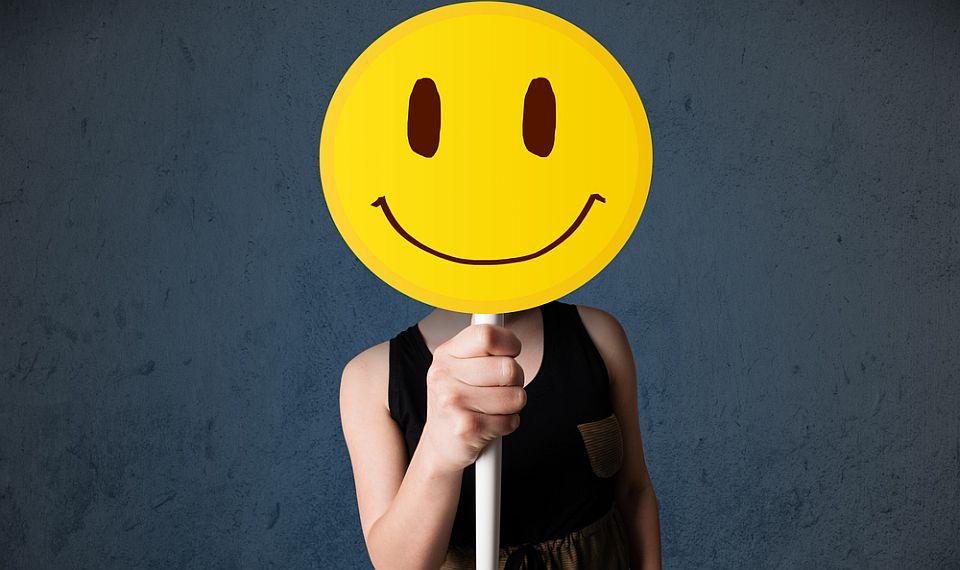 smiley face - curious