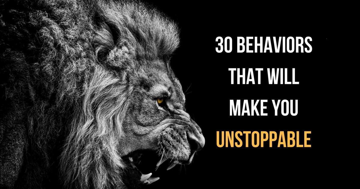 unstoppable - self-improvement