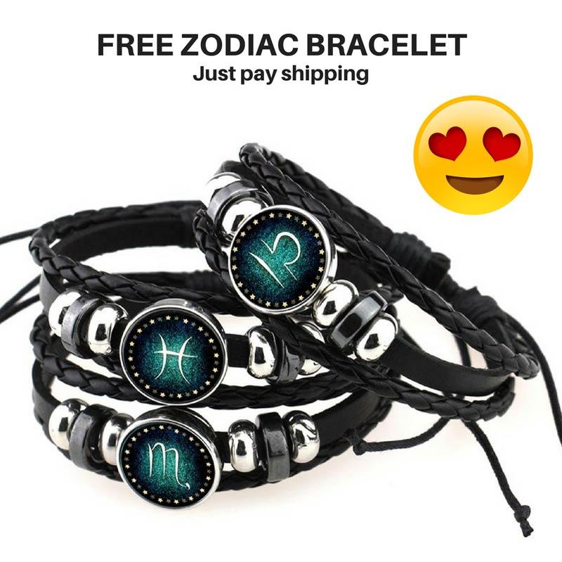 FREE zodiac Bracelet - zodiac