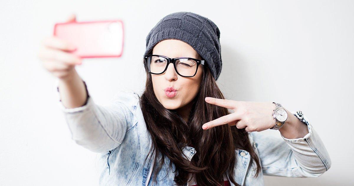 selfie - curious