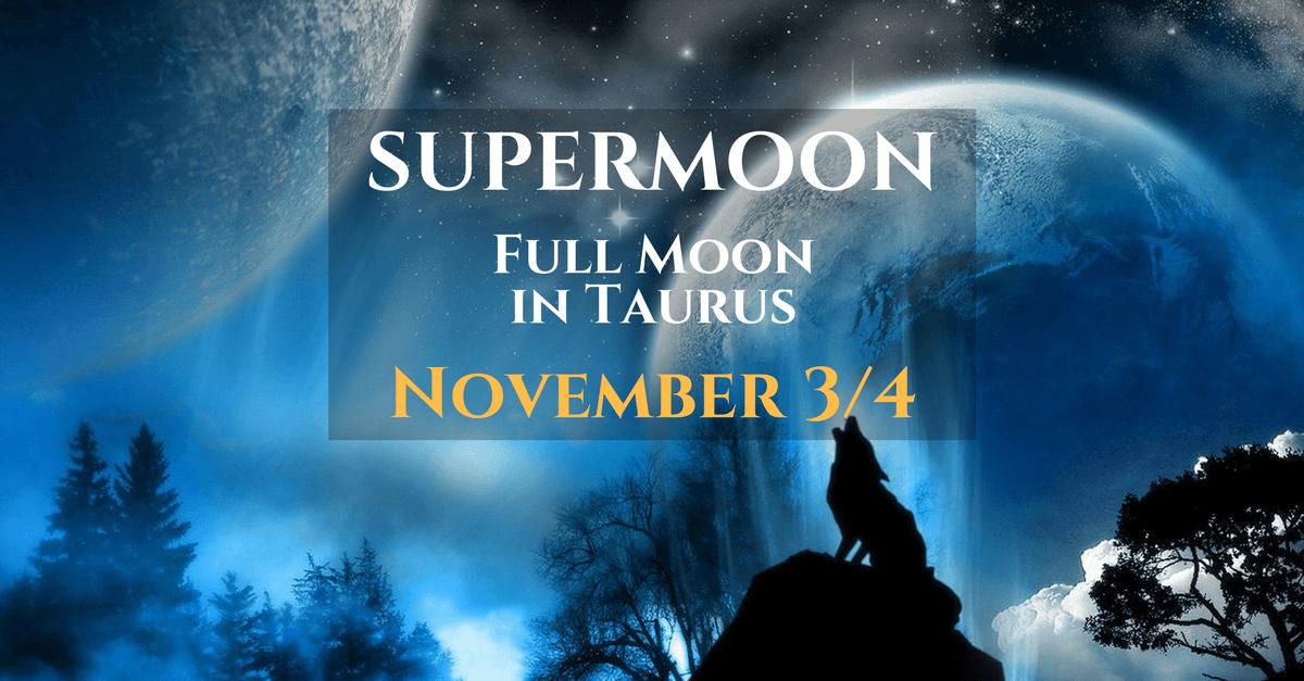 supermoon - zodiac