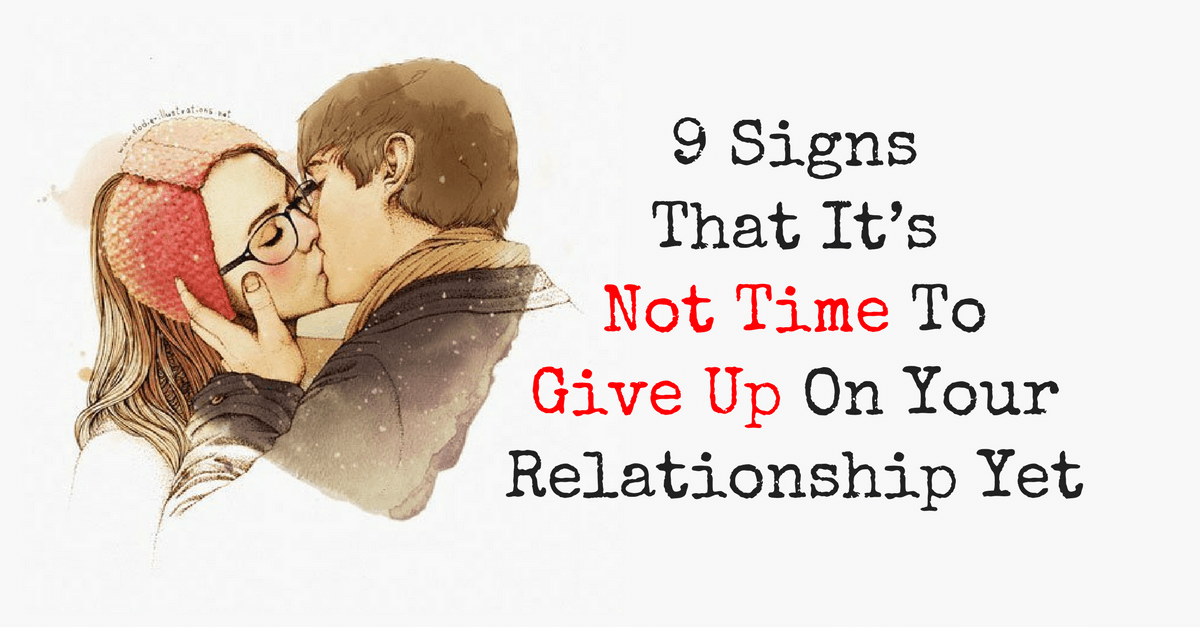 give up relationship 1 - relationships