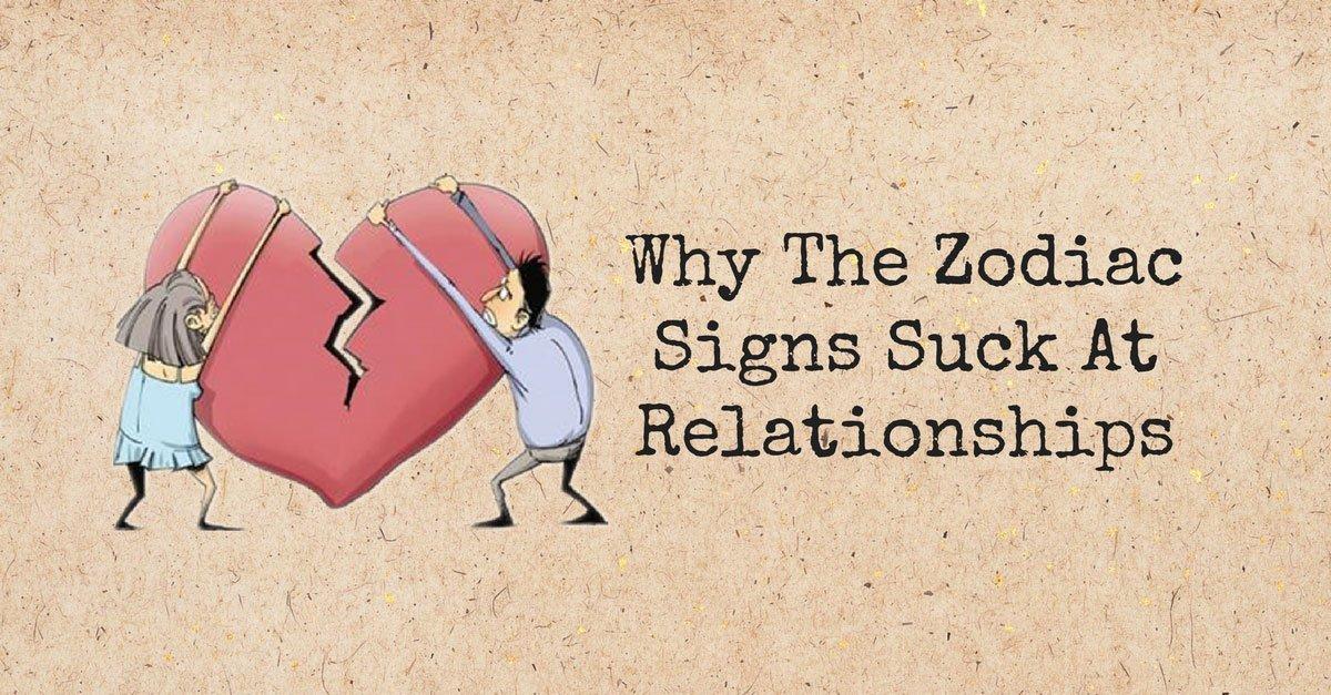 suck relationship - zodiac