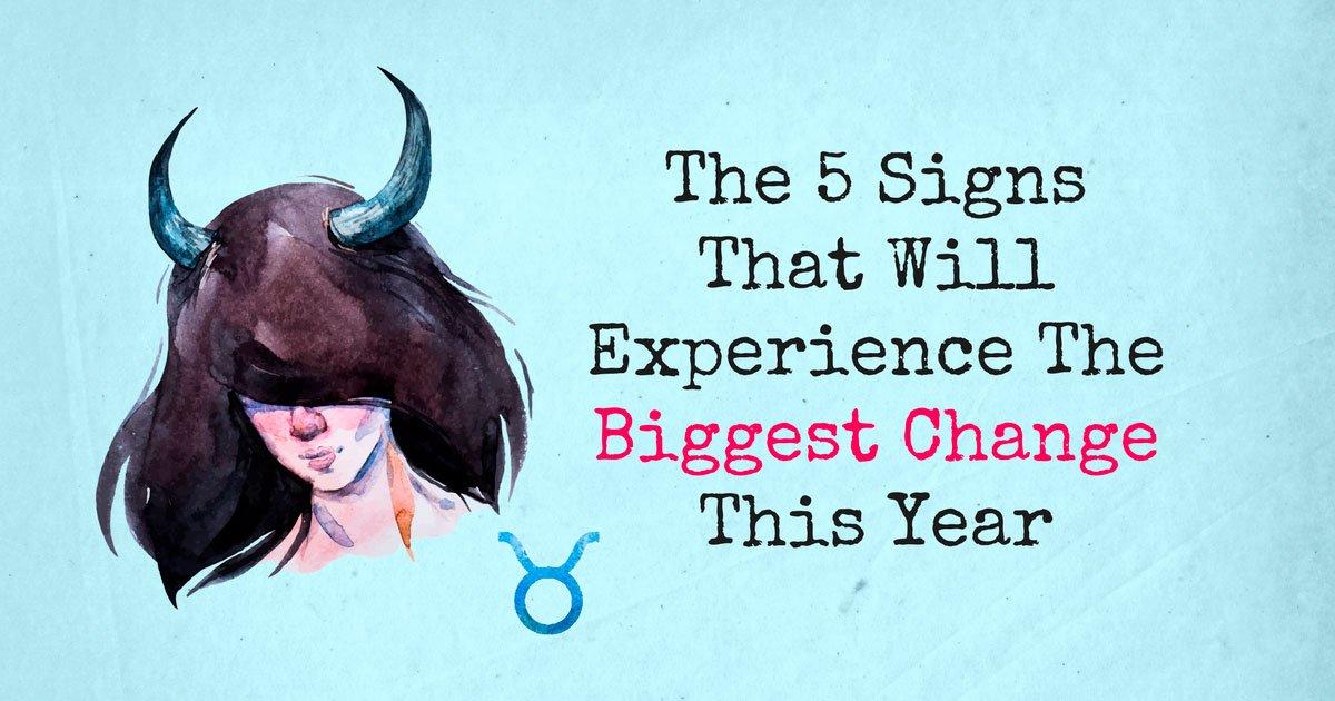 biggest change - zodiac