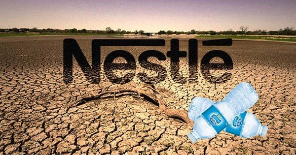 nestle water extraction - curious