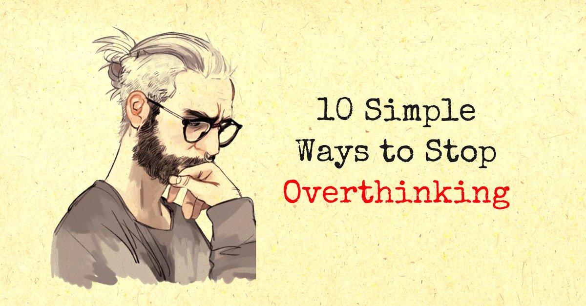 overthinker - self-improvement