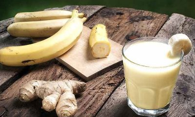 Banana Ginger Smoothie 2 1 400x240 - health