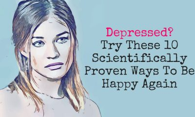 Depressed  Try These 10 Scientifically Proven Ways To Be Happy Again 400x240 - self-improvement