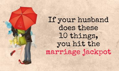 If your husband does these 10 things you hit the marriage jackpot 1 400x240 - relationships
